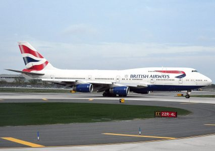 boeing 747 british airways