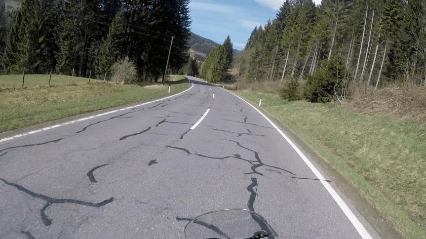Sanierung beliebter Bikerstrecken