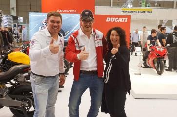 Lustig und produktiv, so starten wir heuer gemeinsam mit Ducati in die Saison!