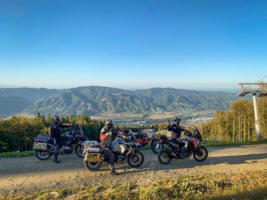 Kurvenfahrer.at Schotter-Erlebnisse