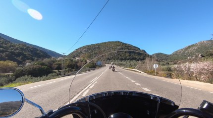 Harley-Davidson Heritage Classic Softail on the Road