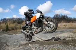 Harley-Davidson Pan America Kurvenfahrer.at