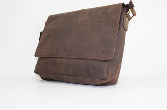 halbtotal - Leabags Messenger Bag Oxford