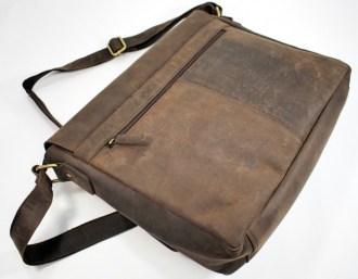 hinten e1450614360888 - Leabags Messenger Bag Oxford