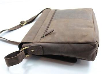 seitlich2 - Leabags Messenger Bag Oxford