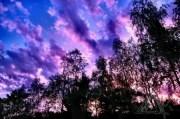 Abendhimmel Camping Lichtenfels