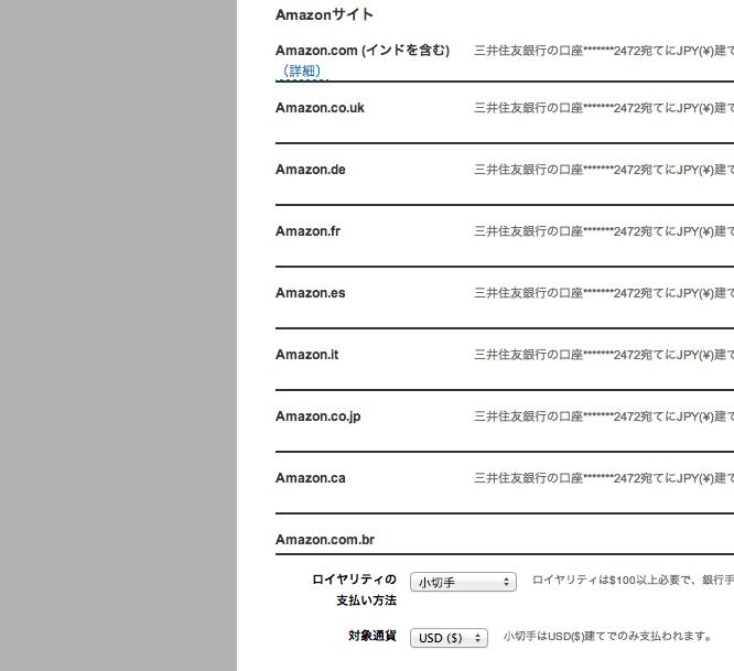 Amazon.co.jp  Kindle Direct Publishing  アカウント
