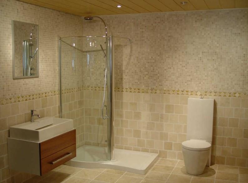 Desain Kamar Mandi Simple Tanpa Bathup