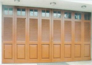 Pintu garasi kayu Sliding kp322