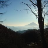 写真03 池近くの山