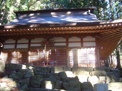 写真09 氷室神社本殿