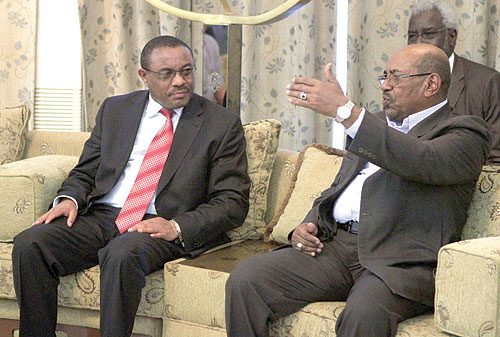 البشير على رأس وفد رفيع إلى إثيوبيا الجمعة