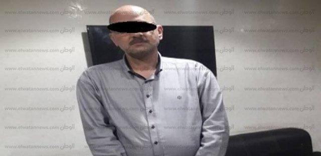 """صورة المتهم بقتل وتقطيع """"تاجرة لحوم سودانية"""" بالقاهرة"""
