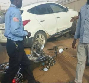 """%name وفاة رجل وابنه إثر تصادم دراجتهما النارية مع عربة بـ""""أمبدة """""""