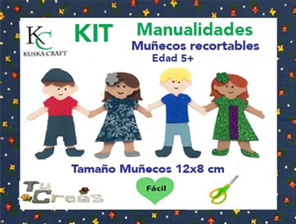 Modelos de muñecos, nivel de dificultad e instrumentos necesarios.