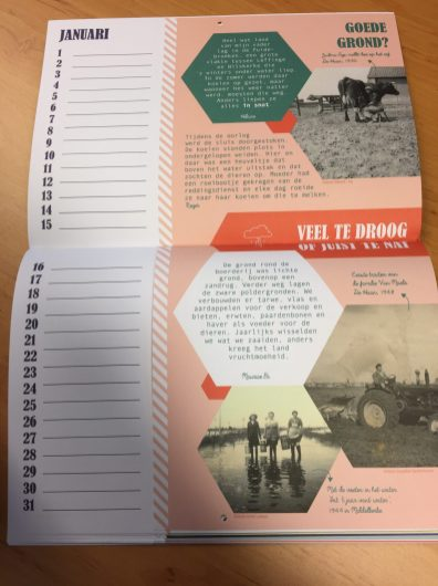 Kalender 'Een jaar op het veld'