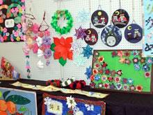 文化祭 作品展示