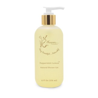 Peppermint-Lemon Natural Shower Gel 1