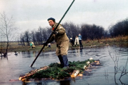 река Воря. Май. 1978