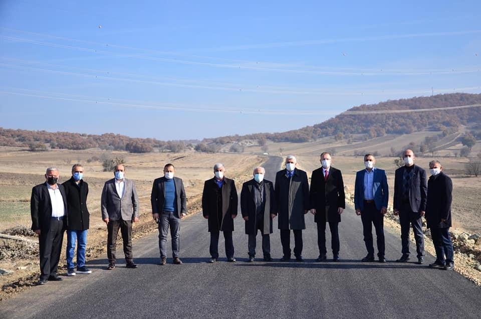 """Başkan Ceyhun: """"Sağlam bir altyapı, konforlu ulaşım için çalışıyoruz"""""""
