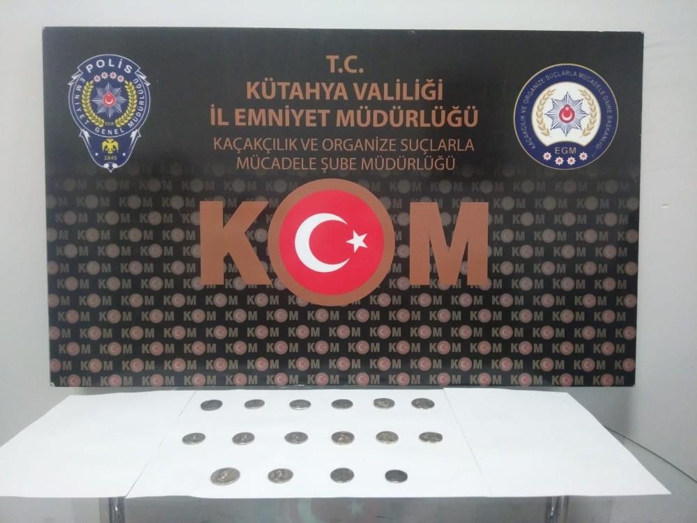 Kütahya'da tarihi eser operasyonu: 2 gözaltı