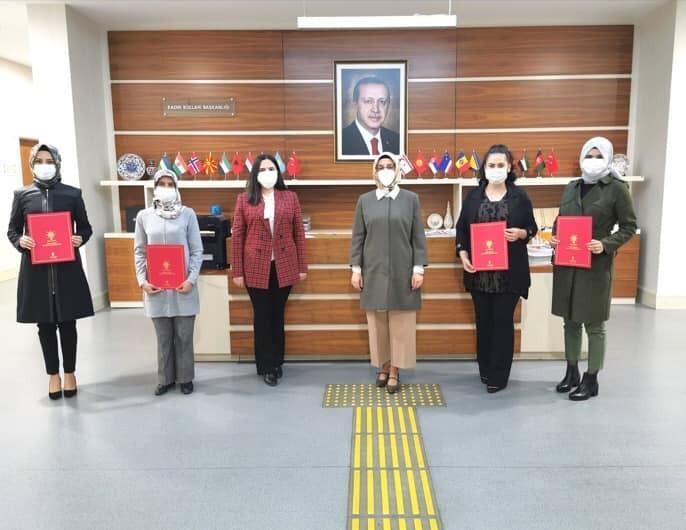 AK Parti'den 4 ilçeye başkan ataması