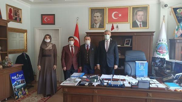 Müftü Demirtaş, Başkan Biçer'i ziyaret etti