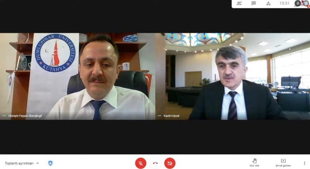 """DPÜ'de """"Akademide Kariyer Planlaması"""" konulu seminer"""
