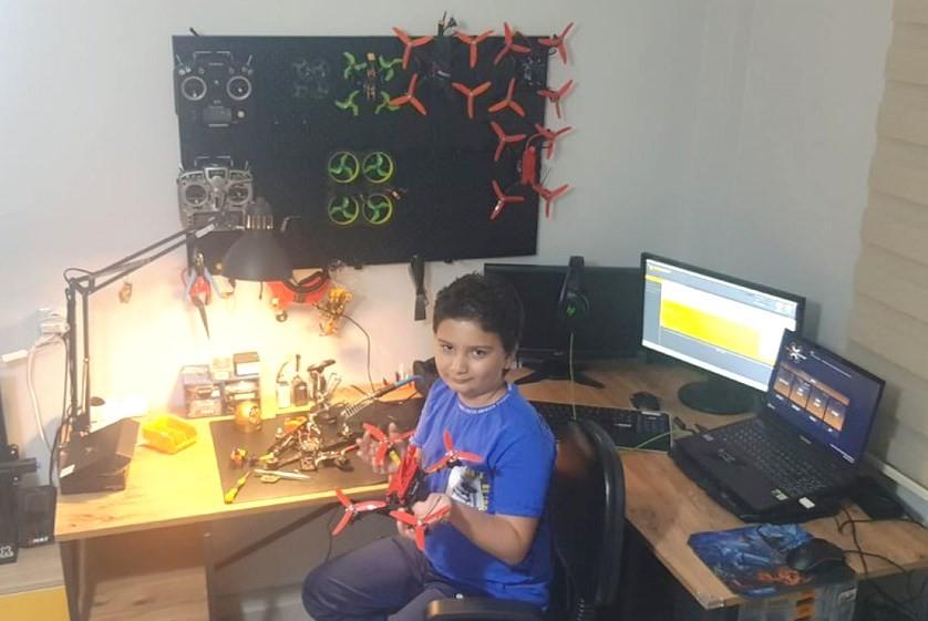 Dumlupınar Teknokent, Drone Şampiyonası'na 11 yaşındaki Doruk'la katılacak
