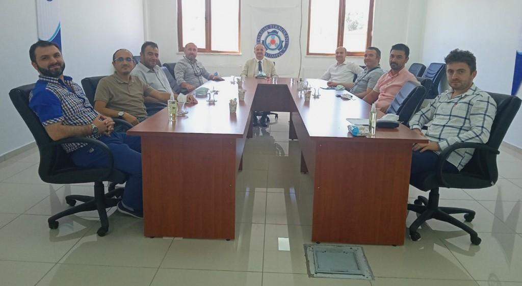 DPÜ TTO'de yönetim kurulu toplantısı