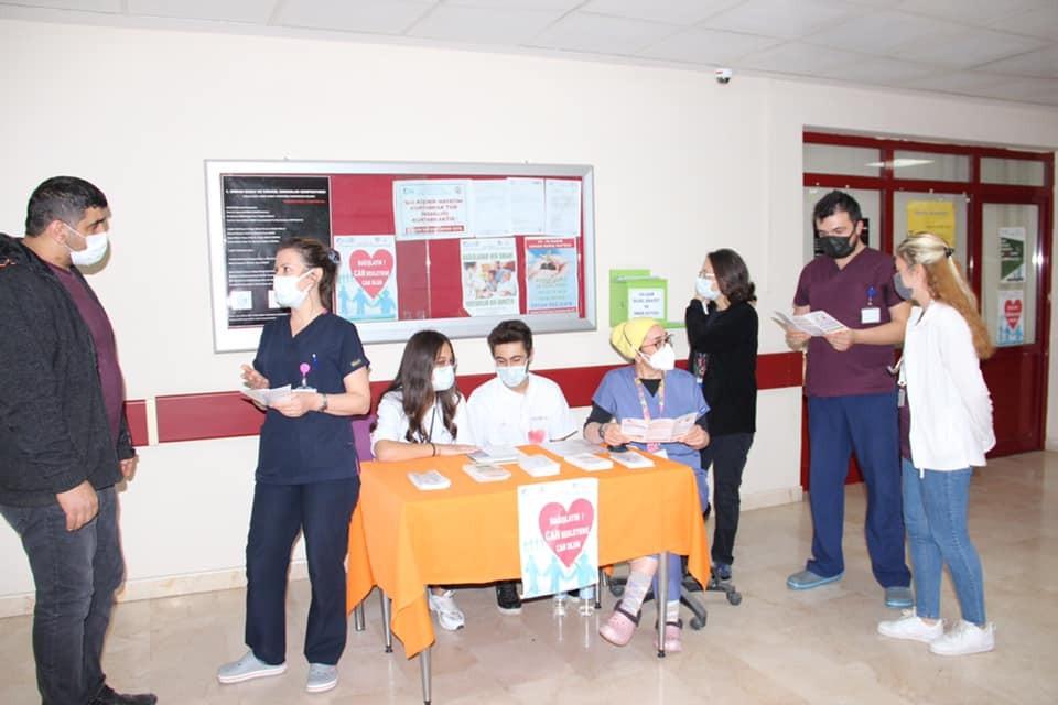 Kütahya'da Organ Bağışı Haftası öncesi etkinlik