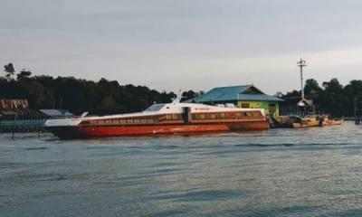 Kapal Ferry Tujuan Lingga Stop