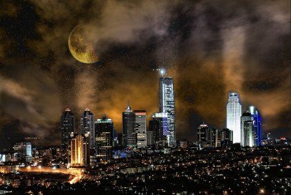 New_Siluethe_of_Istanbul_by_Devrani