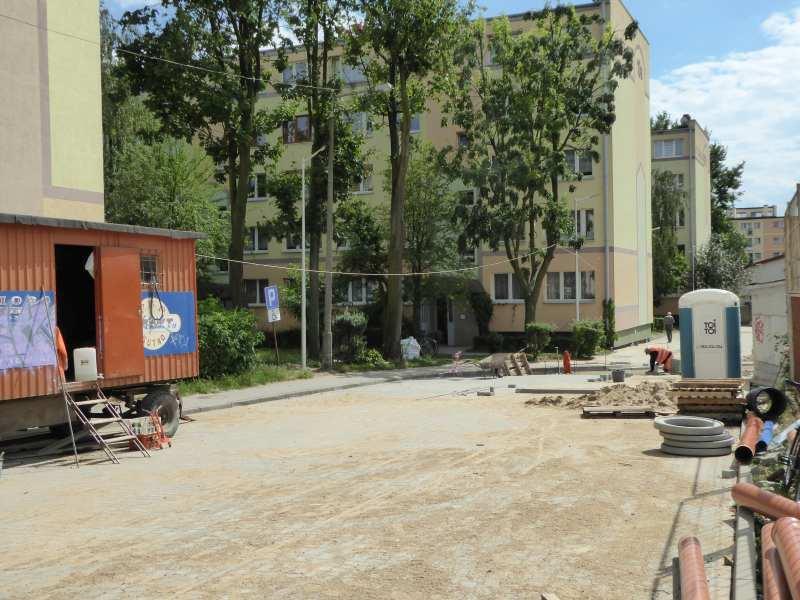 nowy porządek przy ul. Staszica