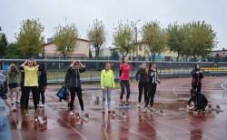 bieganie w deszczu