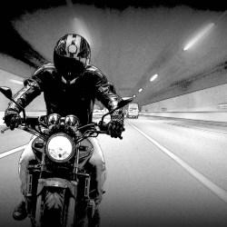 rowerze lub motorze