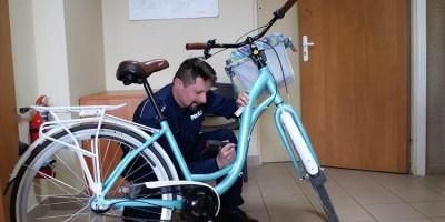 Policja znakuje rowery. Jak uzgodnić znakowanie?
