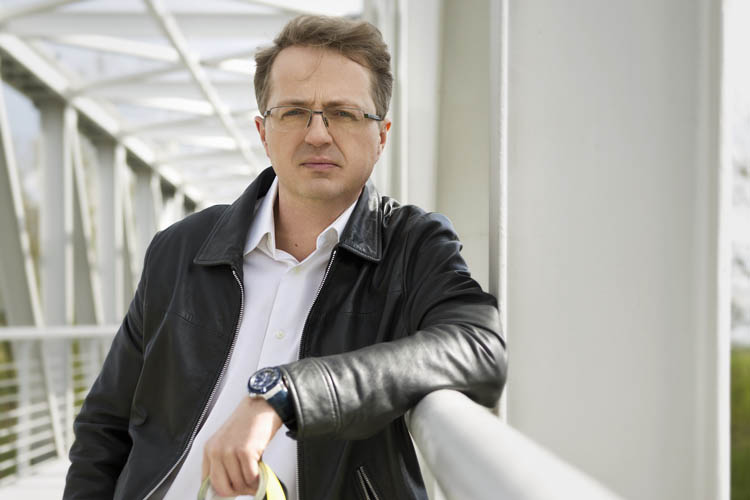 Przemysław Borkowski o ,,Uchu prezesa'' i własnej książce