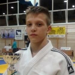 Judo: Miłosz Myszkowski na piątym miejscu w Polsce