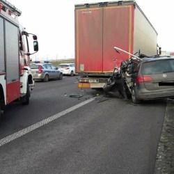 Znów śmiertelny wypadek na autostradzie A1