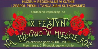 W niedzielę: Festyn na ludowo w mieście róż