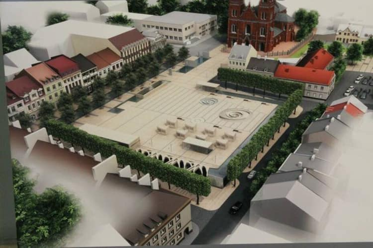 Nareszcie: dwie oferty na przebudowę Placu Wolności!
