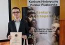 Piotr Muliński laureatem konkursu i olimpiady historycznej