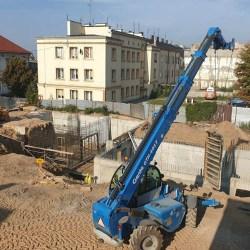 Trwa przebudowa Pałacu Saskiego i Placu Wolności