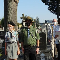 Spotkanie przy grobie doktora Antoniego Troczewskiego