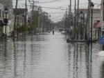 Down Carr Ave. under water in Keansburg NJ Credit: Ryan Gaydos KeansburgPress.wordpress.com