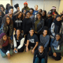 """Students at Kean University who participated in """"More Than Meets the Eye.""""  Credit: Bre'Yanie Pearson"""