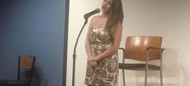Open Mic Night performer Credit: Jasmin Kee