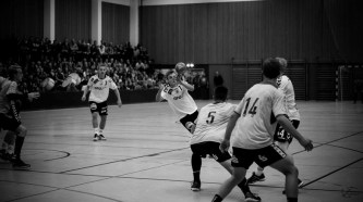 Handball Match in der Werner-Kuhrt-Halle | Kutterkind 2015