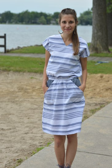 Seamingly Smitten Seaside Dress 5